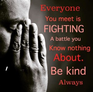 Be kind. Always. Sii Gentile. Sempre.
